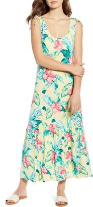 Tommy Bahama Floristic Approach Sleeveless Midi Dress