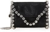 Stella McCartney Falabella Tiny Crystal Shoulder Bag