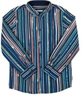 Paul Smith Men's Vertical-Striped Poplin Shirt