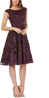 Kay Unger Sequin Mini Dress