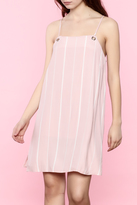 19 Cooper Pink Striped Dress