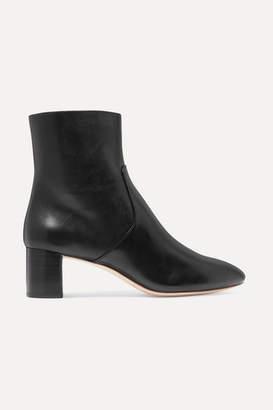 Loeffler Randall Gema Leather Ankle Boots - Black