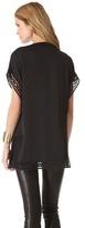 Catherine Malandrino Gigi Embroidered Cutout Dress