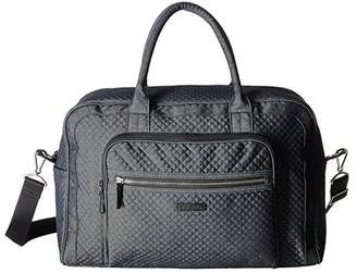 Vera Bradley Weekender Travel Bag (Denim Navy) Weekender/Overnight Luggage
