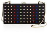 Milly Rhinestone Box Clutch
