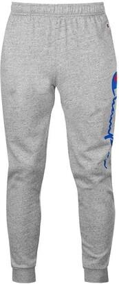 Champion Large Logo Cuffed Sweatpants