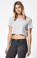 Calvin Klein MyCalvins Logo Cropped T-Shirt