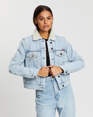 Wrangler Denim Sherpa Jacket