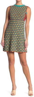 M Missoni Geometric Print Tank Dress