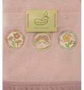 Beansprout Bean Sprout Dream Sleep Grow Baby Blanket 30X36in, Pink, Rainbow/Flower