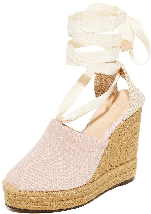 Castaner Urban Canvas Wedge Espadrilles