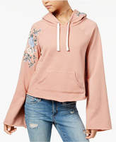 American Rag Juniors' Embroidered Hoodie, Created for Macy's