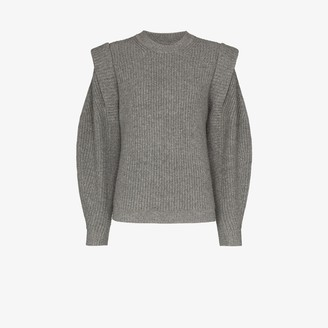 Isabel Marant Cap Sleeve Knitted Sweater