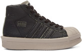 Rick Owens Black adidas Edition Mastodon Pro Model High-Top Sneakers