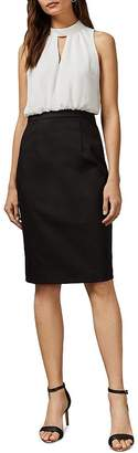 Ted Baker Naimeyd Working Title Color-Blocked Dress
