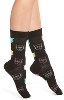 Happy Socks Women's Cat Crew Socks