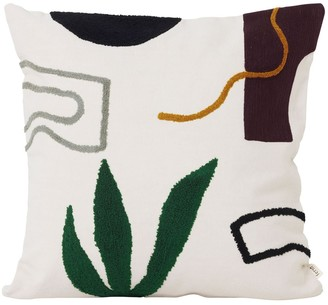 ferm LIVING Mirage Cacti Cotton Pillow