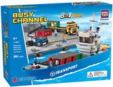 BricTek 8-in-1 Busy Channel Set