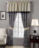 "Waterford Sinclair Indigo 21"" x 55"" Tailored Window Valance"