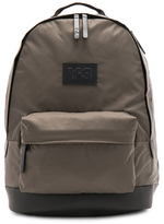 Yohji Yamamoto Techlite Backpack in Green.