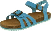 BearPaw Girl's Delilah Leather Ankle-High Suede Sandal - 5M