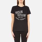 MAISON KITSUNÉ Women's Palais Royal TShirt - Black
