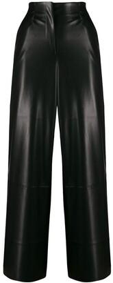 Nanushka Flared Cropped Trousers