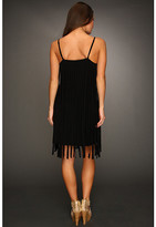Badgley Mischka Monaco Fringe Dress