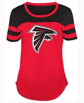 5th & Ocean Women's Atlanta Falcons Limited Edition Rhinestone T-Shirt