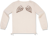Marie Chantal Cashmere Angel Wing Jumper - Sheer Pink