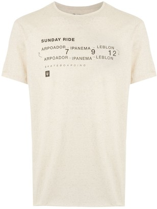 OSKLEN Sunday Ride hemp T-shirt