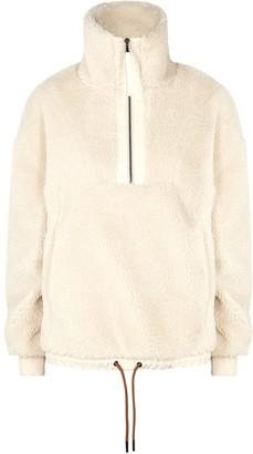Varley Appleton Half-zip Faux Shearling Sweatshirt