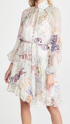 Zimmermann Ladybeetle Angled Mini Dress