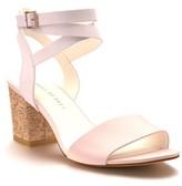 Women's Shoes Of Prey Cork Mid Heel Sandal