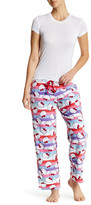 Hello Kitty Multi Stripe Plush Pant
