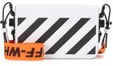 Off-White Exclusive to mytheresa.com - Binder Clip leather shoulder bag