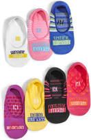 Hue 7-Pk. Sock-of-the-Day Boxed Liner Socks