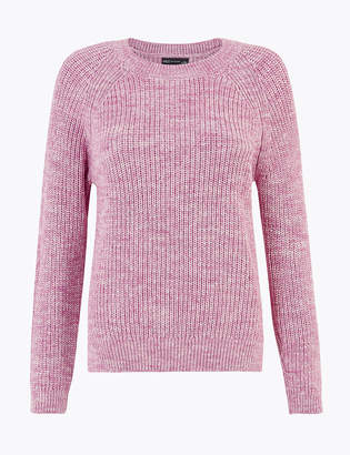 Marks and Spencer Pure Cotton Relaxed Fit Jumper