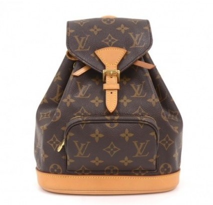 Louis Vuitton excellent (EX Brown Monogram Canvas Montsouris Mini Backpack