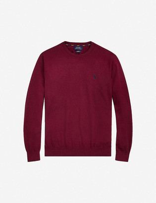 Polo Ralph Lauren Pony-embroidered cotton-knit jumper