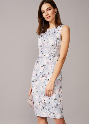 Phase Eight Etta Floral Jersey Dress