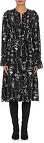 Altuzarra Women's Leighton Silk Georgette Belted Shirtdress