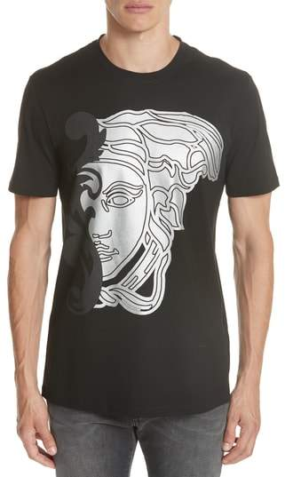 Versace Large Half Medusa Graphic T-Shirt