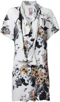 Antonio Marras printed draped blouse