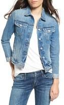 Tularosa Women's Tamsen Cutoff Cuff Denim Jacket