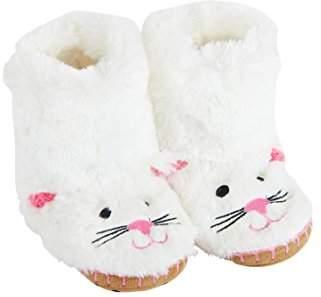 Hatley Girls' Animal Slippers,S Child UK 22-24 EU
