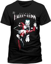Batman Men's Joker & Harley Quinn T-Shirts