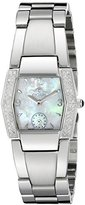 Croton Women's CR207271SSDI Ballroom Analog Display Swiss Quartz Silver Watch