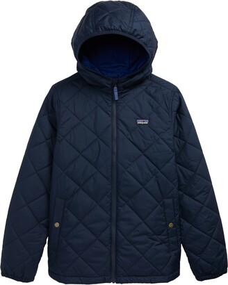 Patagonia Kids' Diamond Quilt Water Repellent Hoodie Jacket