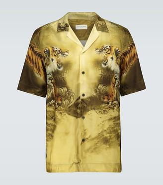Dries Van Noten Tiger printed shirt